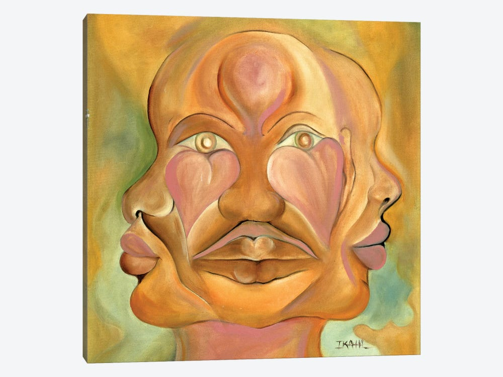 Faces Of Copulation by Ikahl Beckford 1-piece Canvas Print
