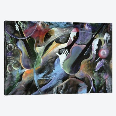 Jammin Canvas Print #BMN6957} by Ikahl Beckford Canvas Wall Art
