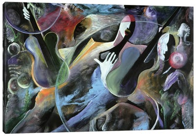 Jammin Canvas Art Print