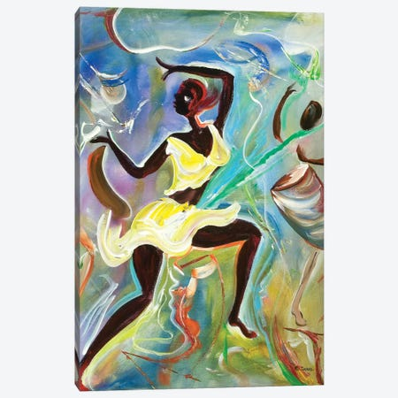 Kumina Canvas Print #BMN6958} by Ikahl Beckford Art Print