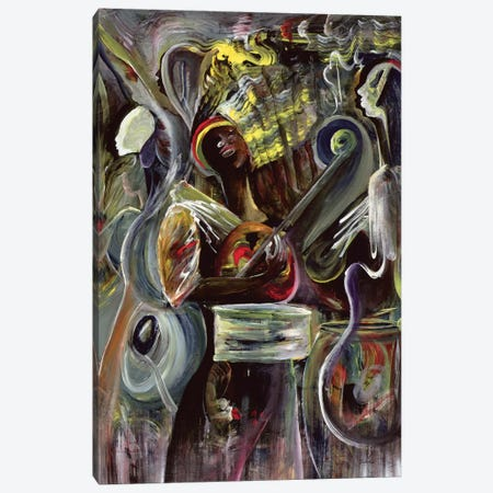 Pearl Jam 3-Piece Canvas #BMN6963} by Ikahl Beckford Canvas Artwork