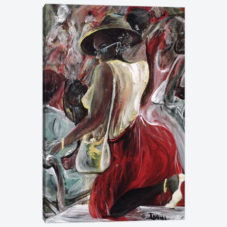 Profiling Canvas Print #BMN6964} by Ikahl Beckford Art Print