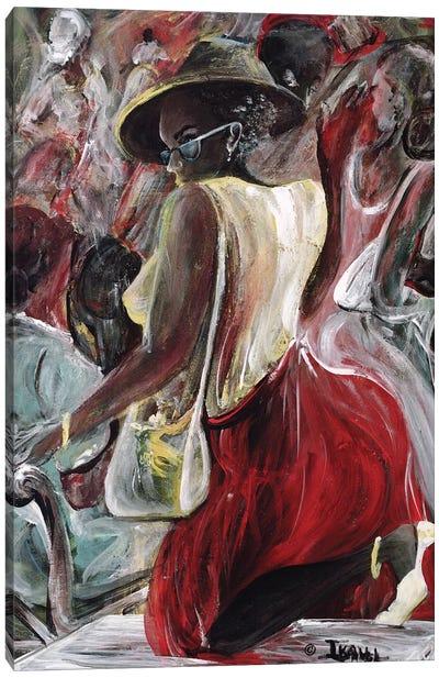 Profiling Canvas Art Print