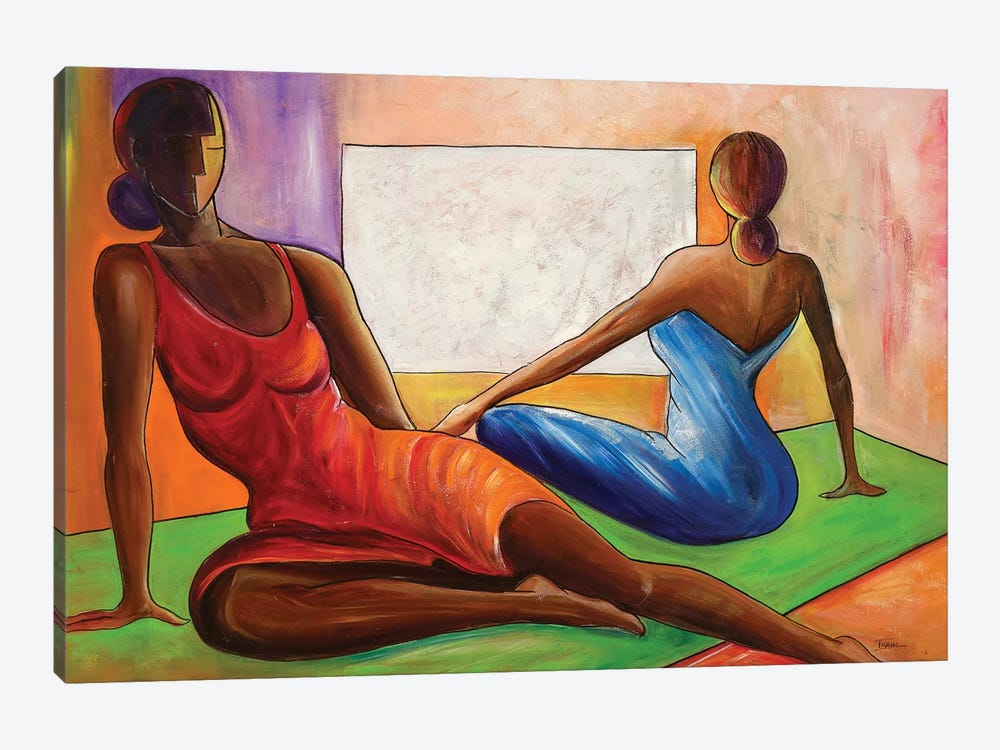 Reflections by Ikahl Beckford 1-piece Canvas Art