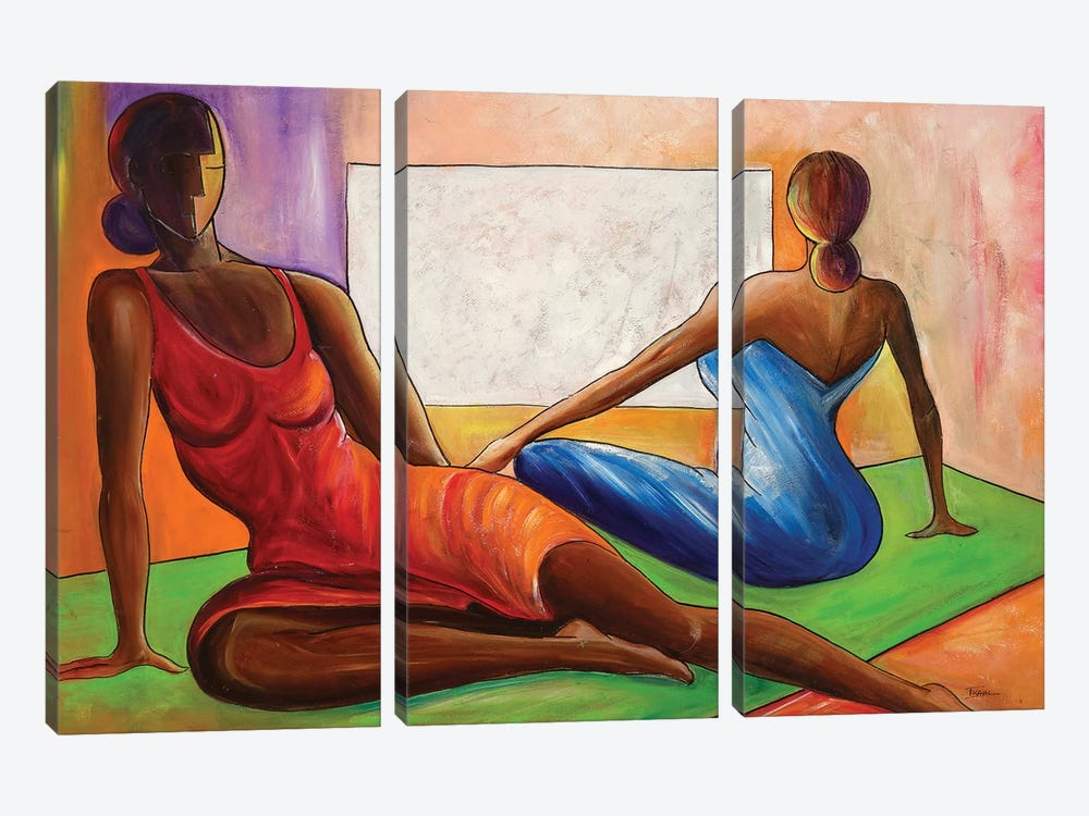 Reflections by Ikahl Beckford 3-piece Canvas Wall Art