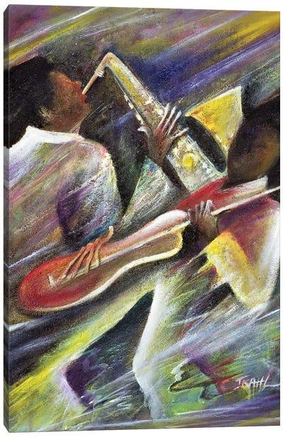 Session Canvas Art Print