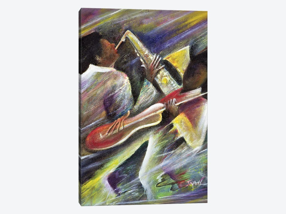 Session by Ikahl Beckford 1-piece Canvas Art