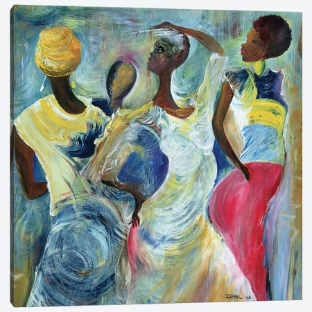 Sister Act Canvas Print #BMN6968} by Ikahl Beckford Canvas Artwork