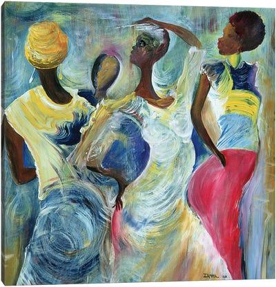 Sister Act Canvas Art Print