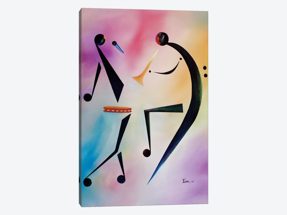 Tambourine Jam by Ikahl Beckford 1-piece Canvas Wall Art