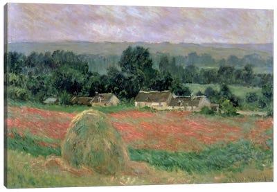 Haystack at Giverny, 1886  Canvas Print #BMN698