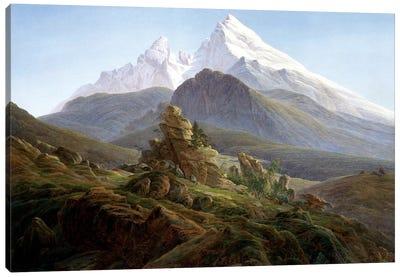 The Watzmann Canvas Art Print