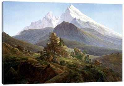 The Watzmann Canvas Art Print