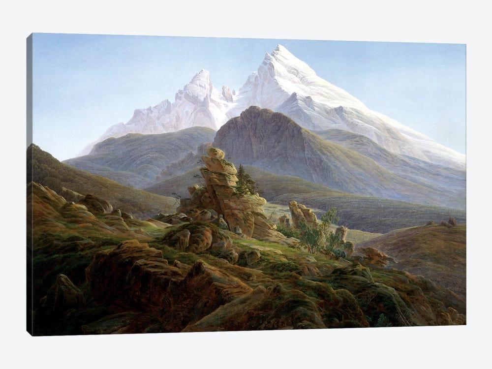 The Watzmann by Caspar David Friedrich 1-piece Art Print