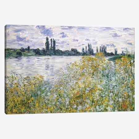 Ile aux Fleurs Near Vetheuil, 1880 Canvas Print #BMN6997} by Claude Monet Canvas Wall Art