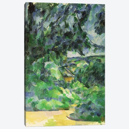 Blue Landscape, c.1903  3-Piece Canvas #BMN699} by Paul Cezanne Art Print