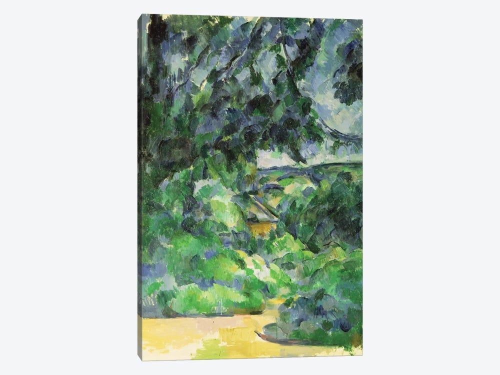 Blue Landscape, c.1903  by Paul Cezanne 1-piece Canvas Art Print