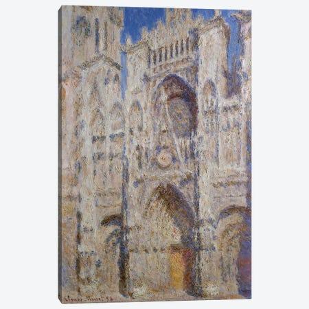 Rouen Cathedral: The Portal (Sunlight), 1894 Canvas Print #BMN7000} by Claude Monet Canvas Art