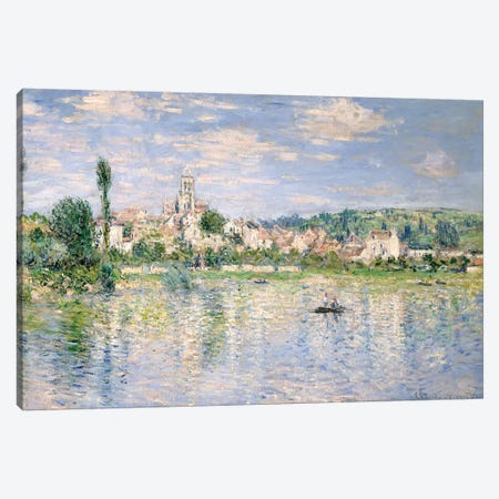 Vetheuil In Summer, 1880 3-Piece Canvas #BMN7005} by Claude Monet Art Print