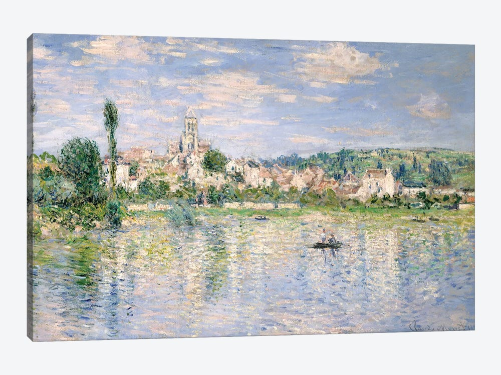 Vetheuil In Summer, 1880 by Claude Monet 1-piece Canvas Art