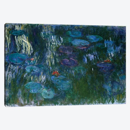 Water Lilies, 1916-19 Canvas Print #BMN7006} by Claude Monet Canvas Art Print