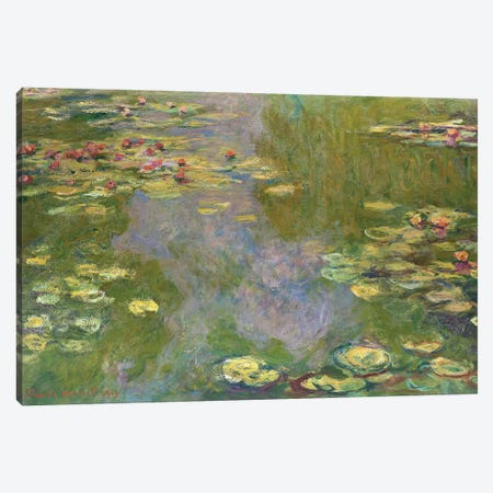Water Lilies, 1919 Canvas Print #BMN7007} by Claude Monet Art Print