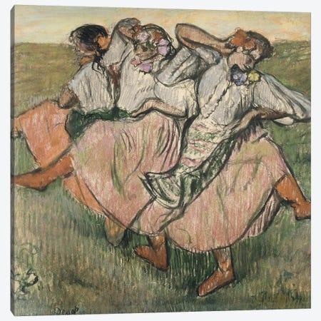 Three Russian Dancers Canvas Print #BMN7015} by Edgar Degas Canvas Art