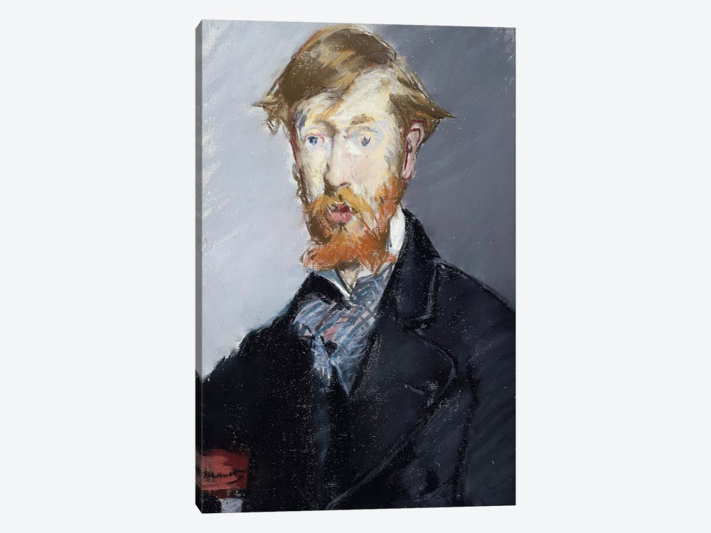 George Moore, 1879 by Edouard Manet 1-piece Art Print