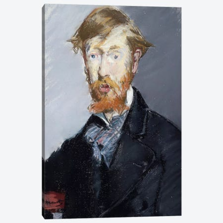 George Moore, 1879 Canvas Print #BMN7019} by Edouard Manet Canvas Print