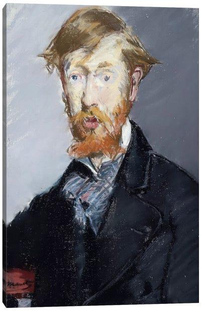 George Moore, 1879 Canvas Art Print