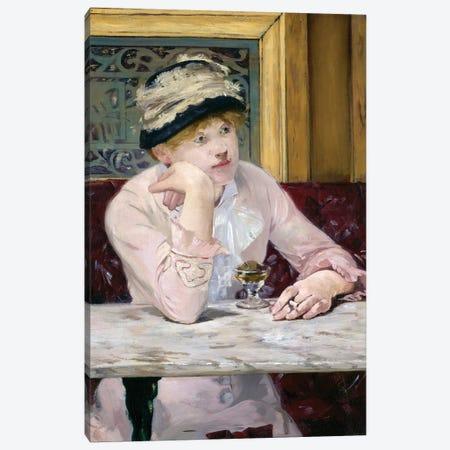 Plum Brandy, c.1877 Canvas Print #BMN7024} by Edouard Manet Canvas Print