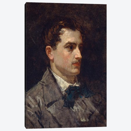 Portrait Of Antonin Proust, 1877 Canvas Print #BMN7025} by Edouard Manet Canvas Art Print