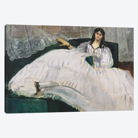 Portrait Of Jeanne Duval, 1862 Canvas Print #BMN7026} by Edouard Manet Canvas Print