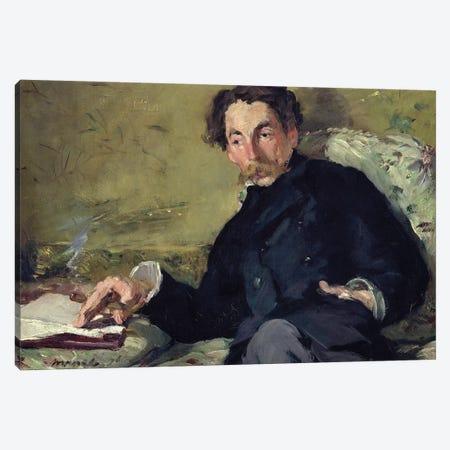 Stephane Mallarme, 1876 Canvas Print #BMN7027} by Edouard Manet Canvas Art Print