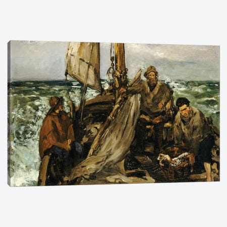 The Workers Of The Sea, 1873 Canvas Print #BMN7032} by Edouard Manet Art Print
