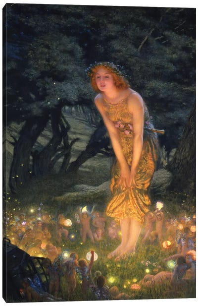 Midsummer's Eve Canvas Art Print