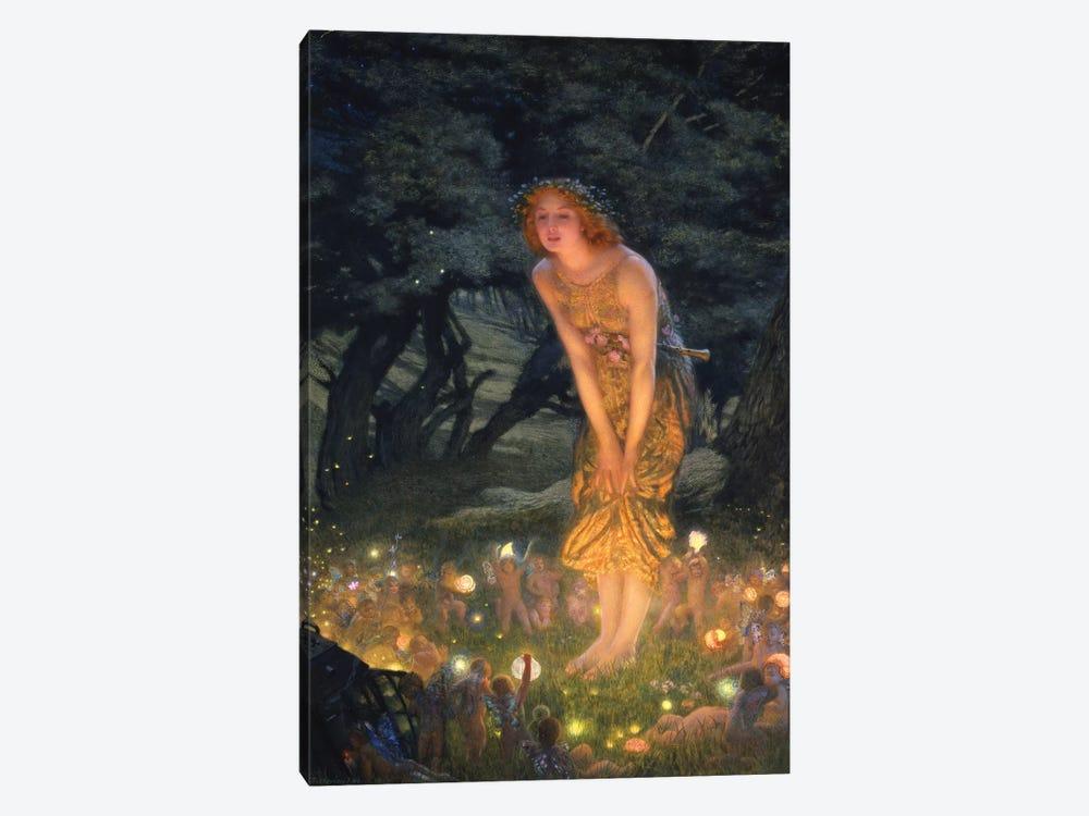 Midsummer's Eve by Edward Robert Hughes 1-piece Canvas Art Print