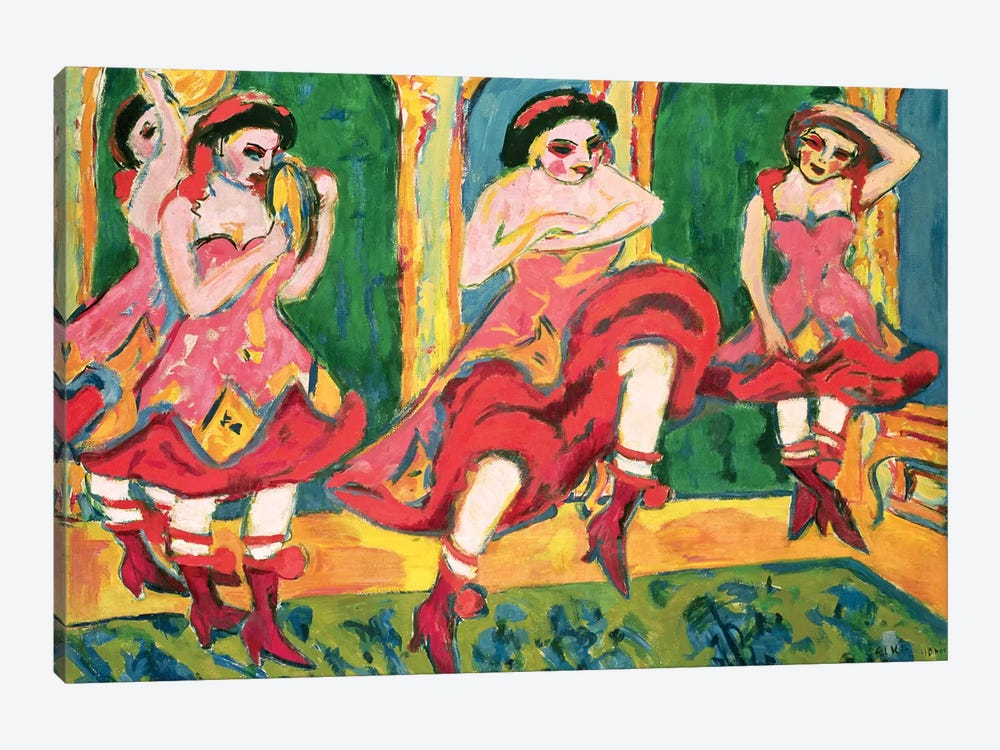 Czardas Dancers, 1908-20 1-piece Art Print