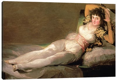 The Clothed Maja, c.1800 Canvas Art Print
