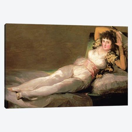 The Clothed Maja, c.1800 Canvas Print #BMN7055} by Francisco Goya Canvas Art