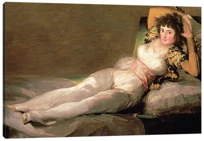 The Clothed Maja, c.1800 Canvas Art Print
