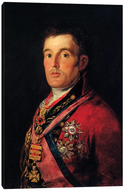 The Duke Of Wellington, 1812-14 Canvas Art Print