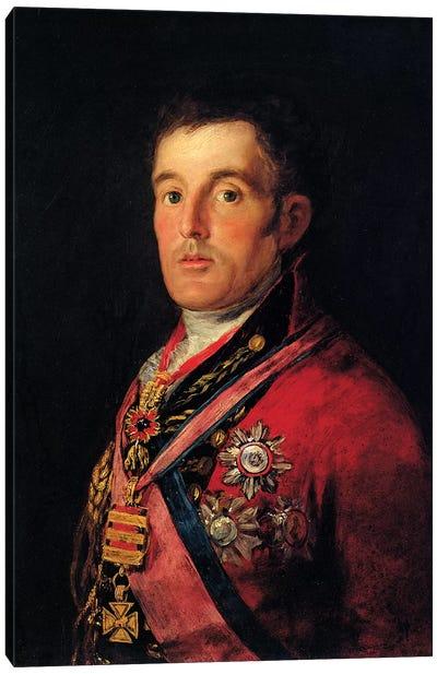 The Duke Of Wellington, 1812-14 Canvas Art Print