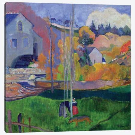 Brittany Landscape: the David Mill, 1894  Canvas Print #BMN705} by Paul Gauguin Canvas Art