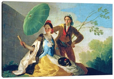 The Parasol, 1777 Canvas Art Print