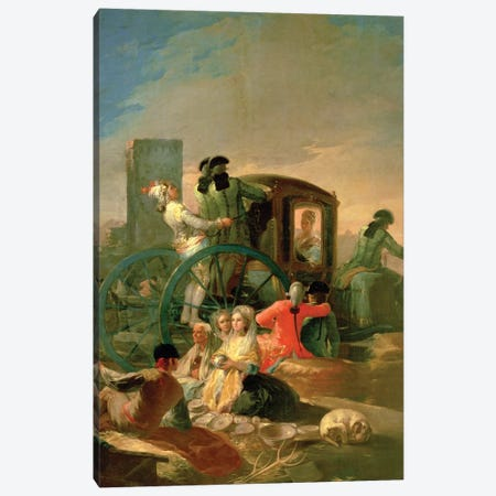 The Pottery Vendor, 1779 Canvas Print #BMN7061} by Francisco Goya Canvas Art