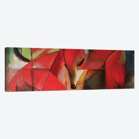 The Fox, 1913 Canvas Print #BMN7064} by Franz Marc Canvas Art Print