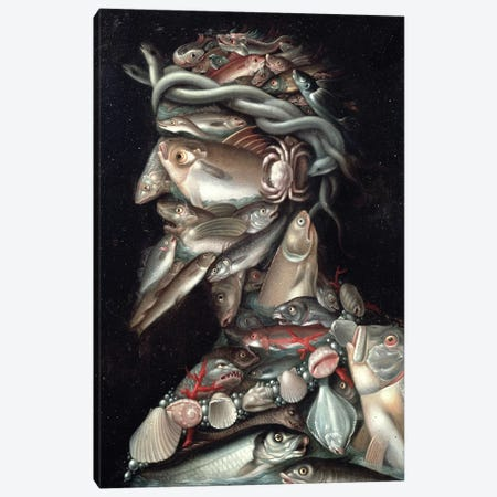 The Admiral Canvas Print #BMN7072} by Giuseppe Arcimboldo Canvas Print