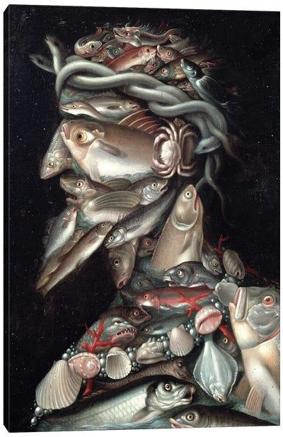 The Admiral Canvas Art Print