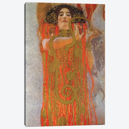 Hygieia, 1900-07 Canvas Print #BMN7081} by Gustav Klimt Canvas Artwork